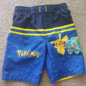 Pokemon Swim Trunks